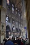 Mass at Notre Dame.